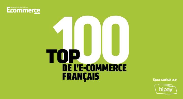 top 100 ecommerce français